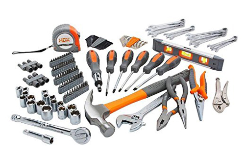 7. HDX 137-Piece Homeowner's Tool Set