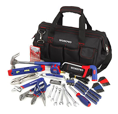 8. WorkPro 156-piece Home Repairing Tool Set