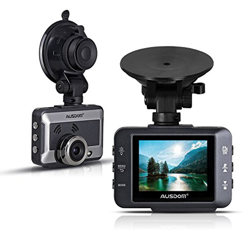 2. AUSDOM Car Dash-Cam Recorder Full HD1080P 2-Inch