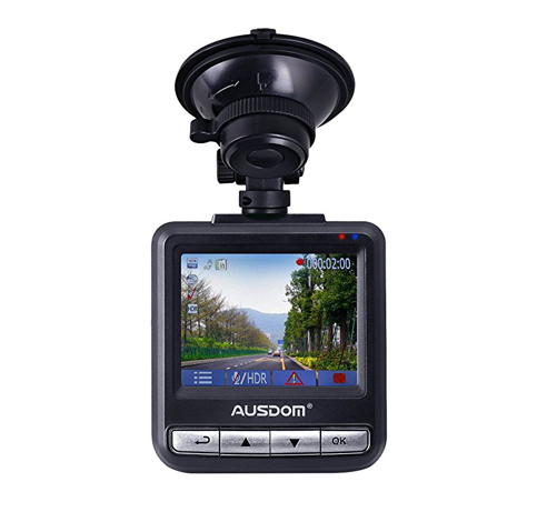 3. Ausdom AD282 Dash Cam 2.4-Inch