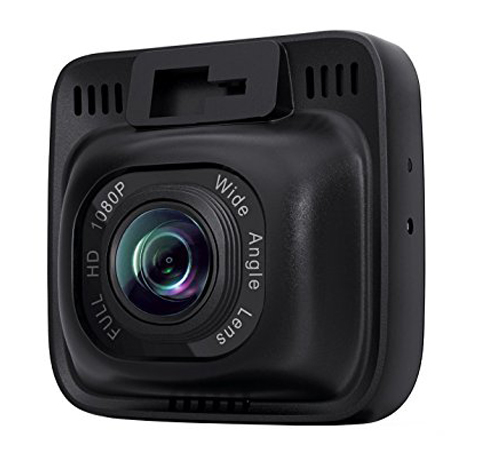 10. AUKEY Dash Cam, Dashboard Camera Recorder 2-Inch