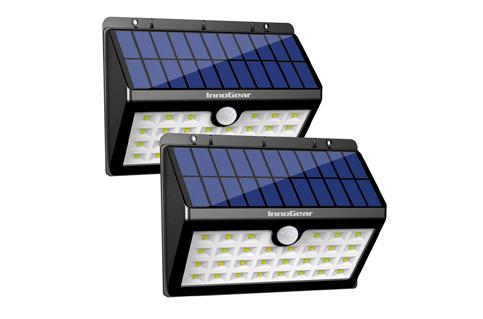 10. InnoGear Pack of 2 30 LED Outdoor Solar Lights