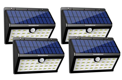 9. InnoGear Pack of 4 30 LED Outdoor Solar Lights