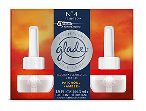 20. Glade 1.5 Fluid Ounce Tempted Scented Oil Air Freshener