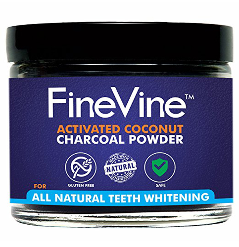 2. FineVine Organics Teeth Whitening Powder