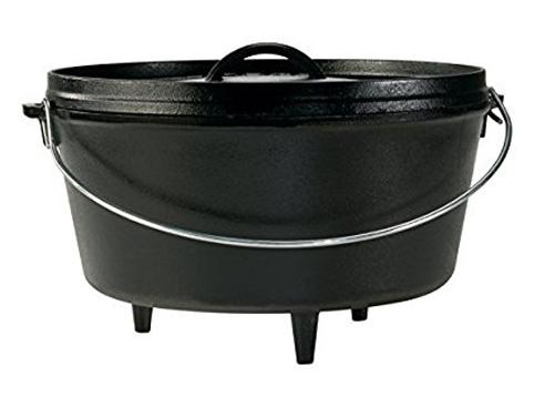 9. Lodge 12 Inch/ 8 Quart Dutch Oven