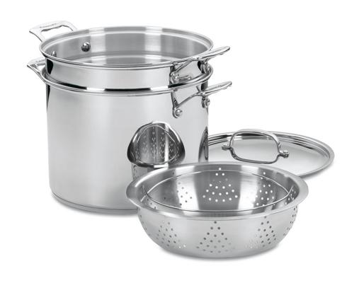 4. Cuisinart 77-412 4-Piece Steamer Set