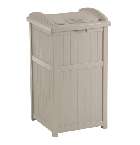 7. Suncast GH1732 Outdoor Trash Hideaway