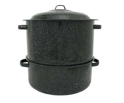 1. Granite Ware 6317-1 19-Quart 2-Tier Steamer