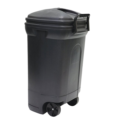8. United Solutions TB0010 34 Gallon Trash Can