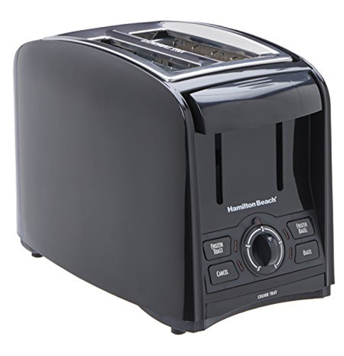 3. Hamilton Beach 2 Slice Cool Touch Toaster