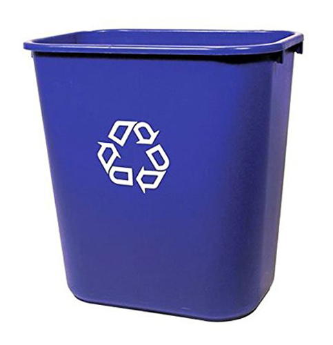 4. Rubbermaid Commercial Products FG295673 Recycling Container