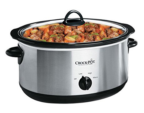 15. Crock-Pot SCV800-B 8-Quart Slow Cooker