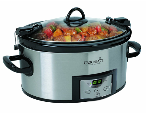 2. Crock-Pot 6-Quart Cook & Carry Slow Cooker