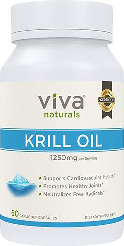 10. Viva Naturals Krill Oil