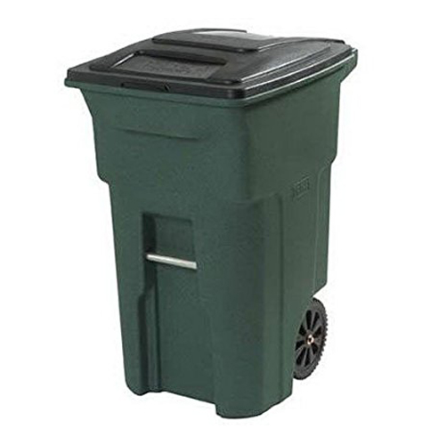 2. Toter 025564-R1GRS 64-Gallon Trash Can