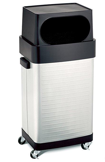2. Seville Classics 17-Gallon UltraHD Trash Bin