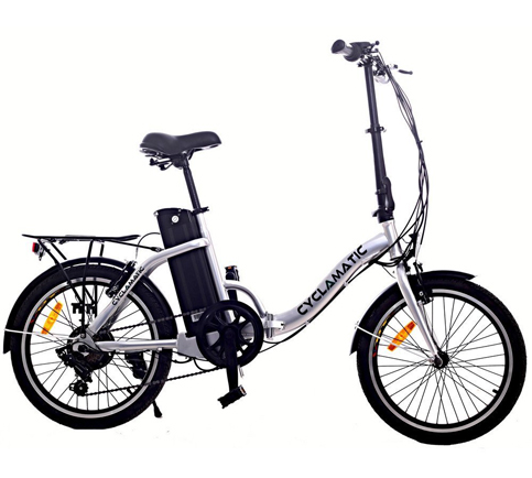 5. Cyclamatic CX2 Electric Foldaway Bike