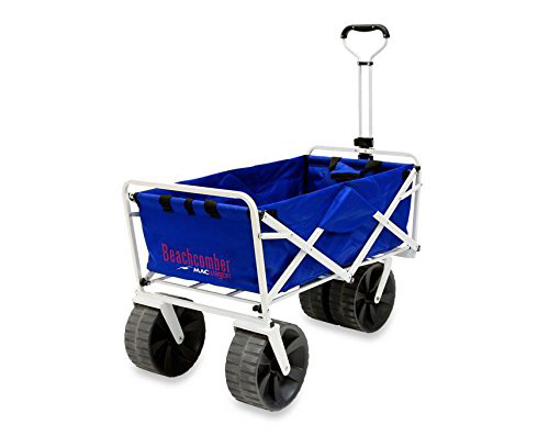 Mac Sports Heavy Duty Collapsible Folding All Terrain Utility Beach Wagon  Cart 79af1205c3