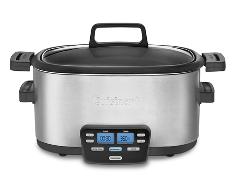 10. Cuisinart MSC-600 3-in-1 6-Quart Slow Cooker
