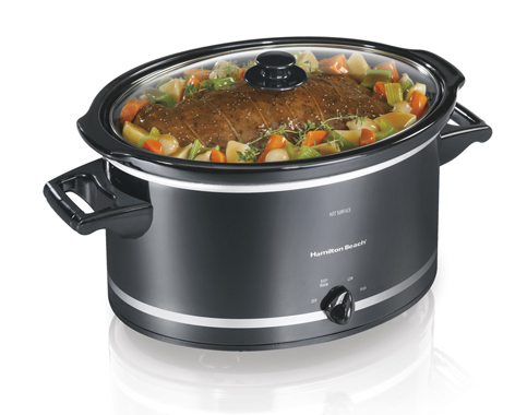 12. Hamilton Beach 33182A 8-Quart Slow Cooker
