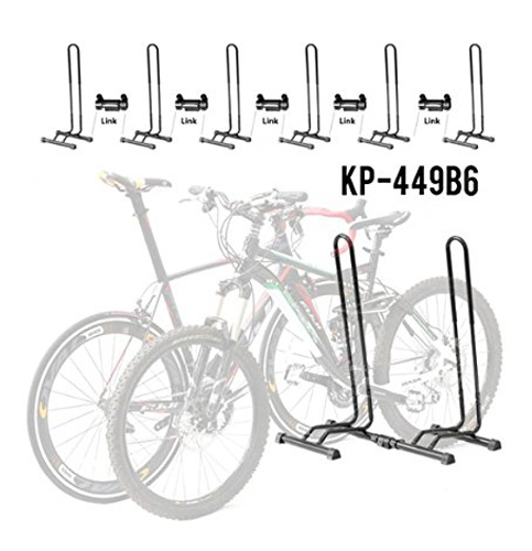 7. CyclingDeal Floor Parking Bicycle Storage Stands