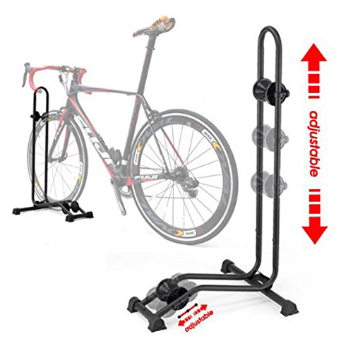 5. Bikehand Floor Parking Bike Storage Stand