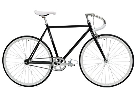 3. Critical Cycles Fixed-Gear Bike with Pista Drop Bars