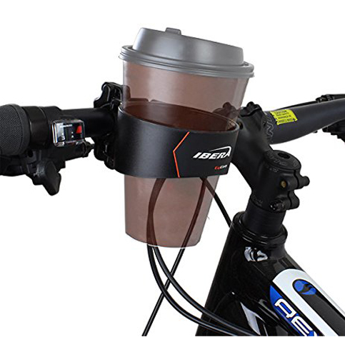 5. Ibera Bike Handlebar Cup Holder