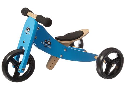 1. Kinderfeets Wooden Balance Bike and Tricycle