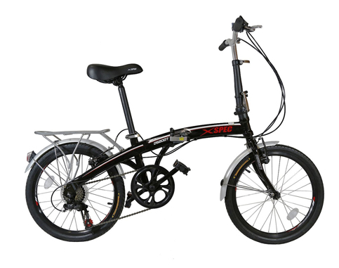 "4. Xspec 20"" City Folding Bike"