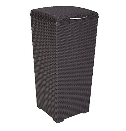 6. Keter 30 Gal. Outdoor Waste Basket Trash Can