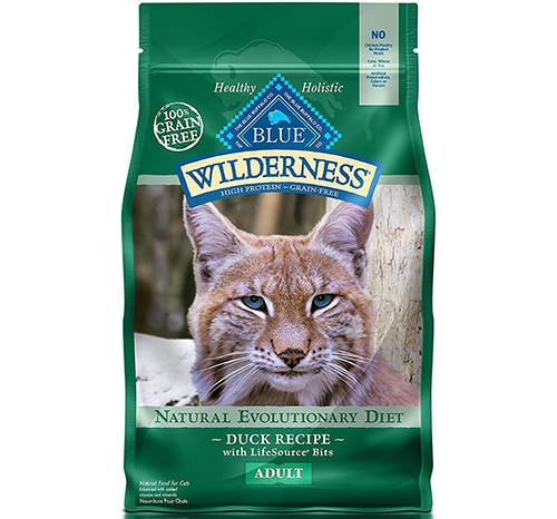 1. Wilderness High Protein Adult Cat Food