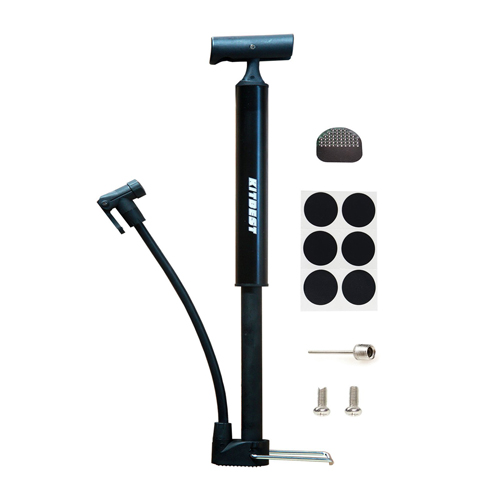 8. Kitbest Aluminum Alloy Portable Bike Floor Pump
