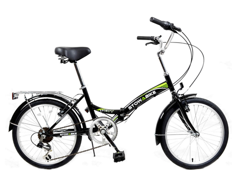 "9. Stowabike 20"" Folding City V2 Bike"