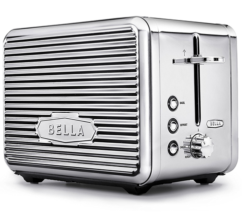 6. LINEA 2 Slice Toaster with Extra Wide Slot