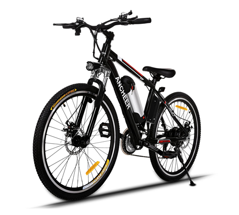 10. ANCHEER Power Plus Electric Mountain Bike