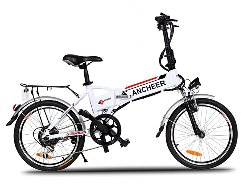 2. ANCHEER Power Plus Folding Electric Bike
