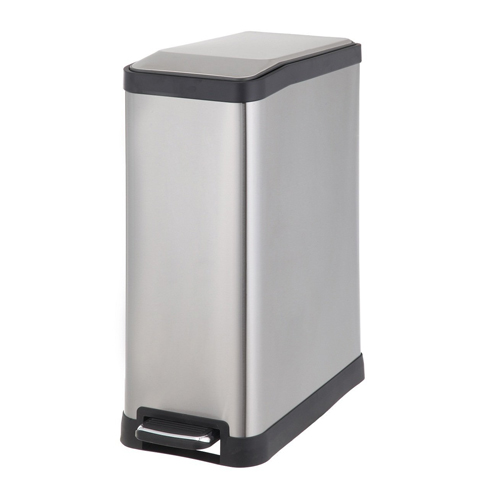 4. Home Zone 45-Liter Rectangular Step Trash Can