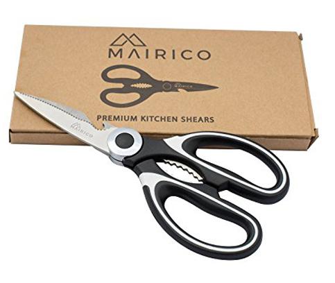 9. MAIRICO Kitchen Shears and Multi Purpose Scissors