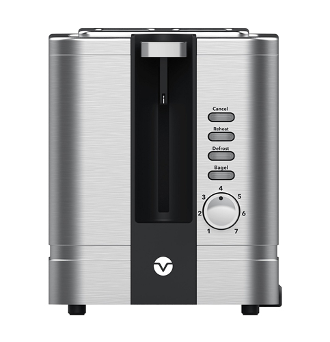 8. Vremi Toaster 2 Slice Stainless Steel