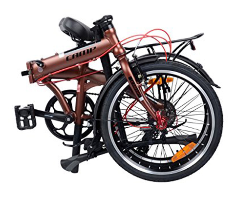 "2. Camp 20"" 8 Speed Folding Bike"