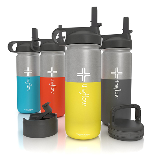 8. The Flow Stainless Steel Water Bottle