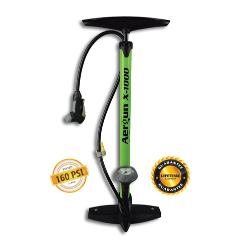 6. Aergun X-1000 Bike Pump