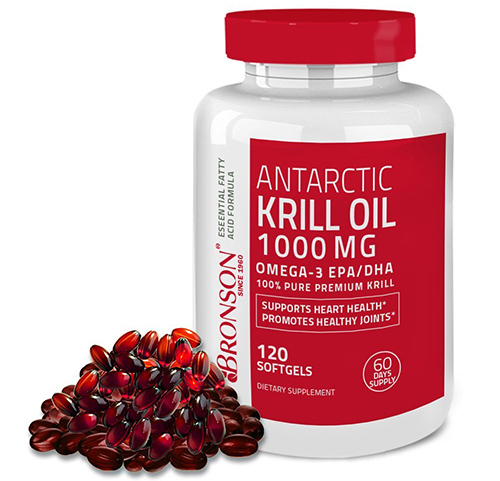 2. Bronson Antarctic Krill Oil