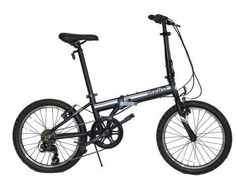 7. EuroMini 20-Inch Folding Bike