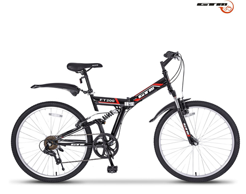 "6. GTM 26"" Folding Mountain Bike"