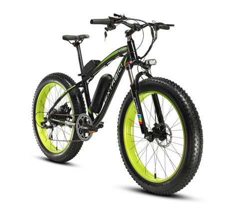 7. Cyrusher Fat Tire Mountain Bike