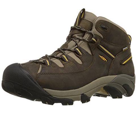 4. KEEN Men's Targhee II Mid WP Hiking Boot