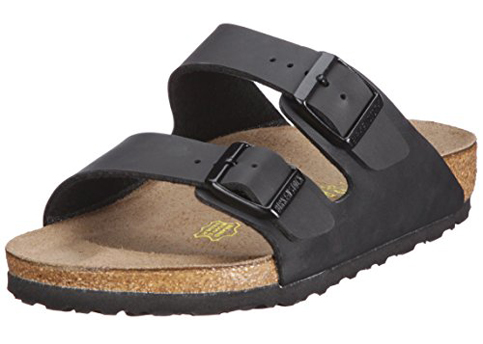 6. Birkenstock Arizona Soft Footbed Suede Sandals